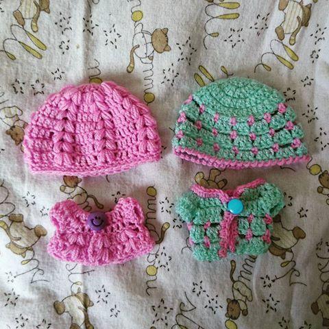 Conjuntos para Ksi-merito tejidos a mano. #gumilove #crochet #ksimerito