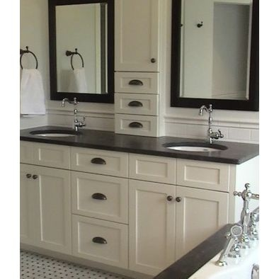 12 best images about jack jill bathrooms on pinterest for Jack and jill bathroom vanity