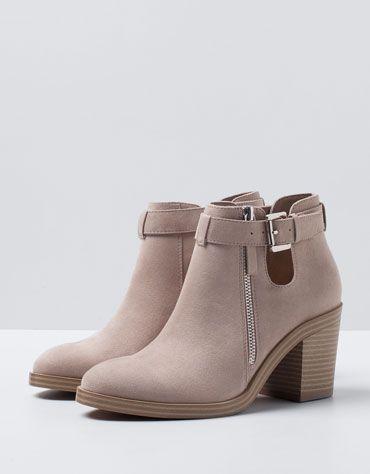 Botin de salto alto basico #estaesmimodacom #zapatos #botas #tacon #calzado
