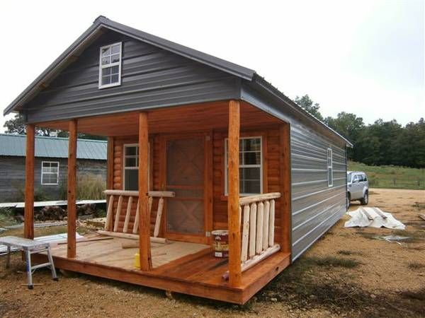 7500 12x24 Shell W Metal Siding Tiny House Ideas Pinterest Tennessee Shells And For Sale