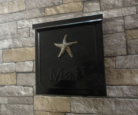 Star Fish Locking Security Mailbox Black & by Georgiegirlstudios, $38.50