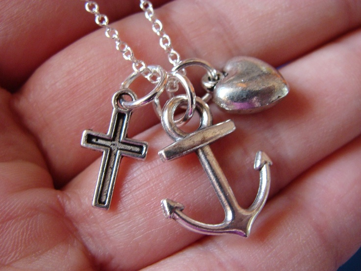 74 best images about faith hope charity on pinterest for Faith hope love jewelry