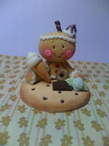 *SORRY, no information as to product used ~ Ginger en galleta por Mundo Pekes Mimi