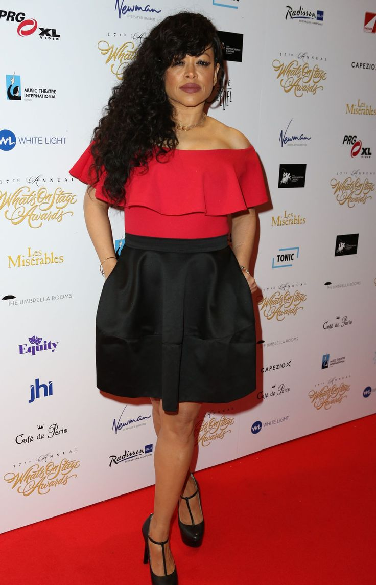 Stacy Francis  #StacyFrancis 17th Annual WhatsOnStage Awards in London 19/02/2017 Celebstills S Stacy Francis
