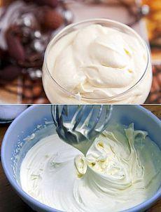 Сметанный крем для торта / Простые рецепты