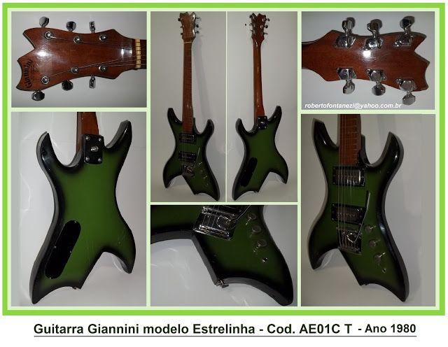 ROBERTO GUITARRAS VINTAGE : Guitarra Giannini modelo Estrelinha - Cod AE01C T ...