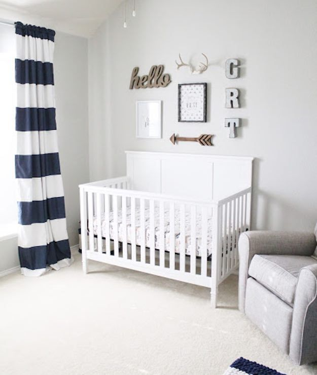 Blue And White 21 Inspiring Baby Boy Room Ideas