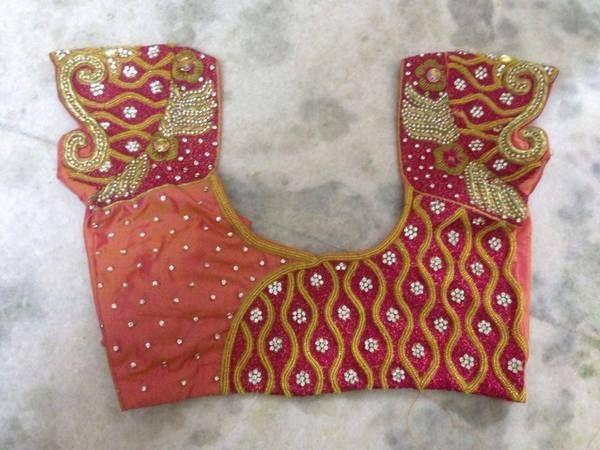 Blouse Designs by Sravani - Saree Blouse Patterns