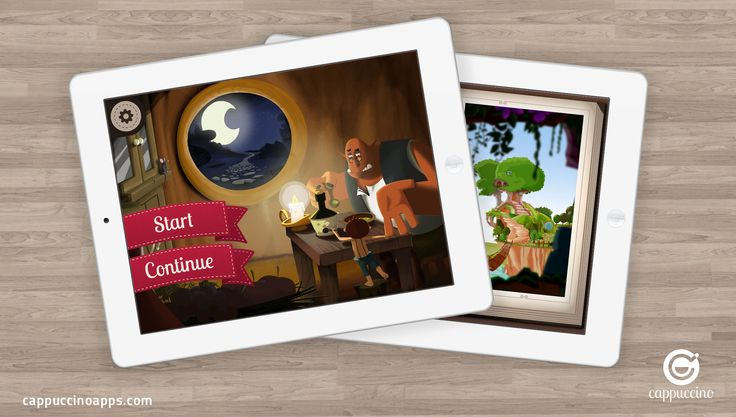 iPad app design -See how our iPad app's are designed to target at kids and provide an easy user experience http://www.cappuccinoapps.com/