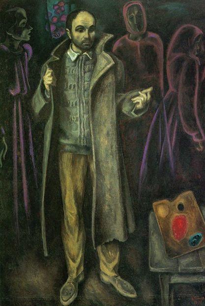 Viktor Popkov(Шинель отца, 1972 )