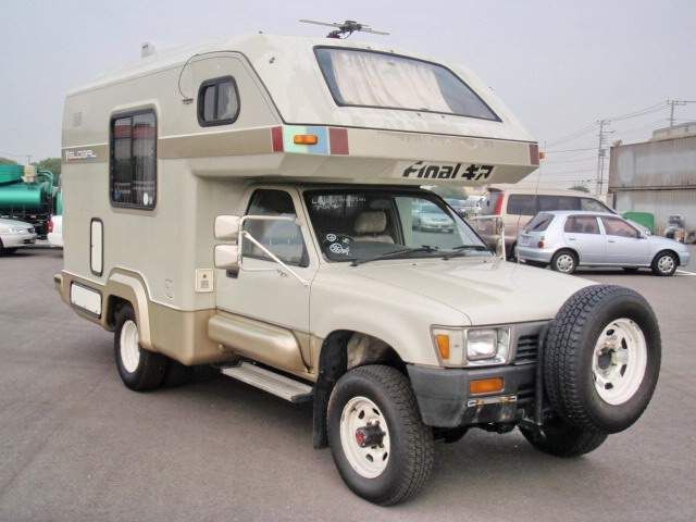 89 Toyota Hilux 4wd Motorhome Airstream Trailers Rvs Toyota