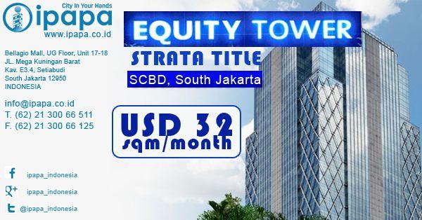 Ingin memiliki kantor di EquityTower? Kunjungi link berikut ini http://www.ipapa.co.id/building/detail/fx-senayan-office-114 #ipapa #ipapaindonesia #ipapapromotion #officespace #officerent #sewaoffice #sewakantor #officejakarta #kantorjakarta