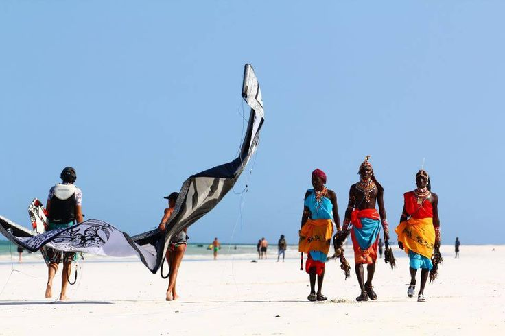Masai  + Beach + kitesurf