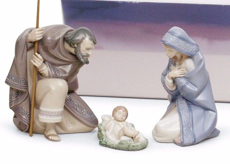 LLADRO NATIVITY SET CHRISTMAS