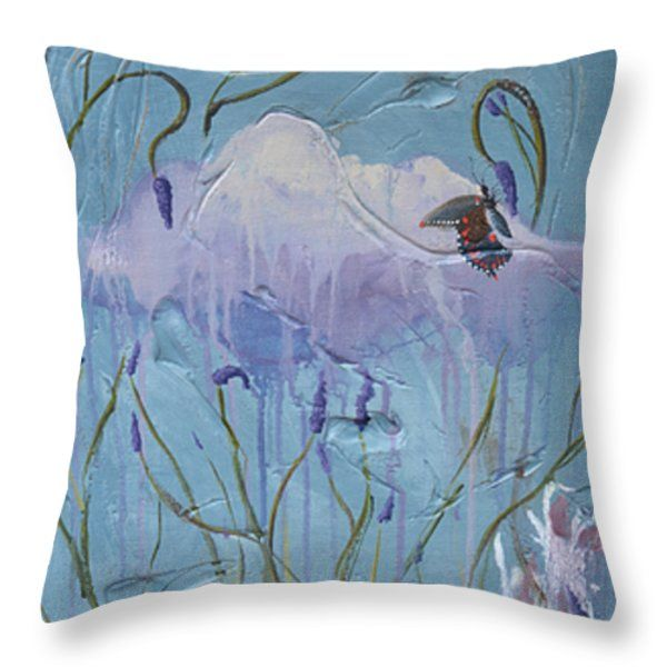 """Arty throw pillows, in different sizes, to add some 'je ne se qua' your home, from the bedrooms, dining room, lounge and study...or to spice up your office, waiting rooms and/or reception areas. Click here -> http://leana-de-villiers.artistwebsites.com/products/dance-of-the-butterfly-leana-de-villiers-throw-pillow-14-14.html to place your order. """"Dance Of The Butterfly"""" Throw Pillow 14"""" x 14"""" http://leanadevilliers.com/"""