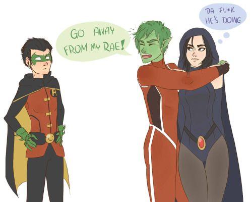 "darkaczu:Yup,i saw the sneak peek for""Justice League vs Teen Titans"" xD"