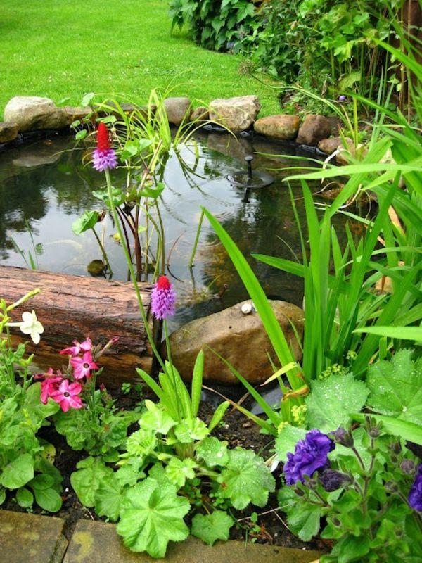 27 idéés pour le bassin de jardin préformé , hors sol + - bassin-de-jardin-préformé