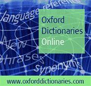 Oxford Dictionaries Online