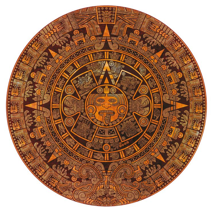 Calendar Art Meaning : Ideas about aztec calendar on pinterest