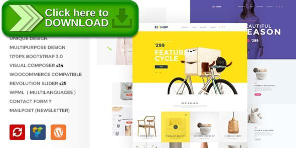 [ThemeForest]Free nulled download ECOSHOP - Multipurpose eCommerce WordPress Theme from http://zippyfile.download/f.php?id=9802 Tags: brands, clothes, commercial, ecommerce, fashion, minimal, multipurpose, online shop, responsive, retail, shop, shopping, shore, store, yellow