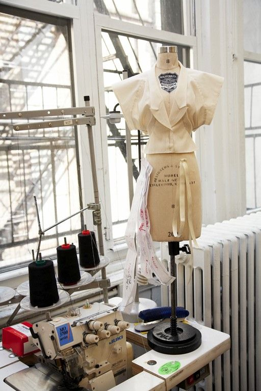 Fashion Design Studio - fashion designer's workspace; fashion behind the scenes; dressmaking // Alexander Wang