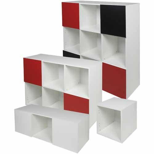 NOUVEAU Cube White SKU# 228632  H: 400mm, W: 400mm, D: 400mm.  CUBES SOLD SEPARATELY.