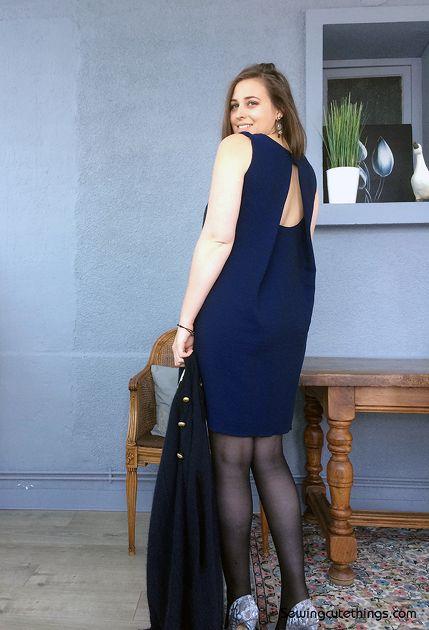 Robe Ivy – La Maison Victor par SewingCuteThings - thread&needles