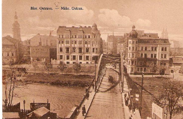 most mezi Slezskou a Moravskou Ostravou