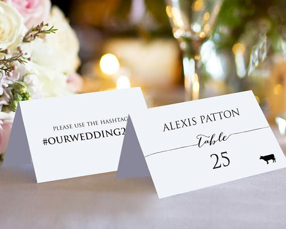 25 best ideas about place card template on pinterest for Double sided place card template