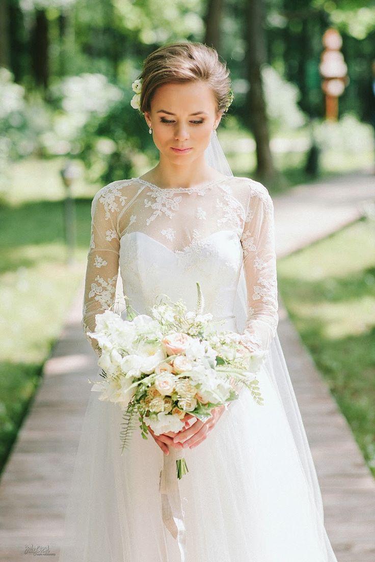 JulyEvent: Nastya+Dima   Elegant rustic wedding   #julyevent #bride
