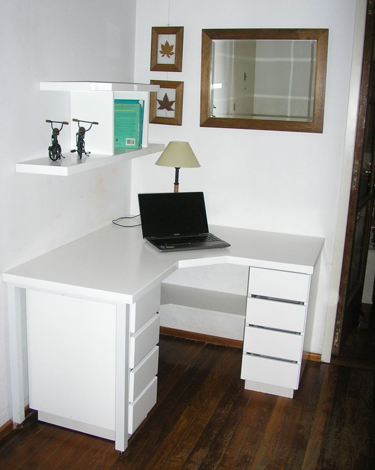 Escritorios esquineros ideas para el hogar pinterest for Muebles de escritorio modernos para casa