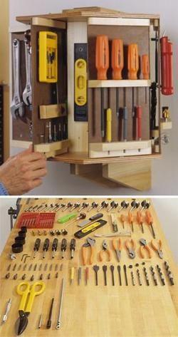 Tool Carousel Woodworking Plan