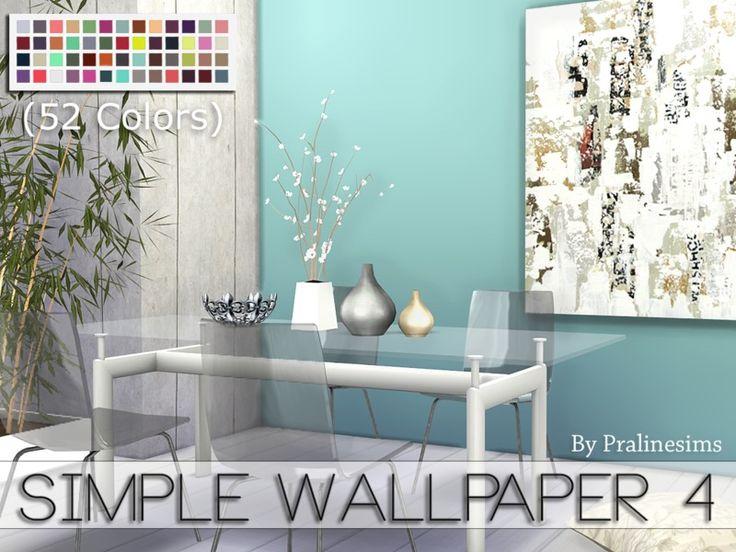 Development Version: Pralinesims' Simple Wallpaper 4