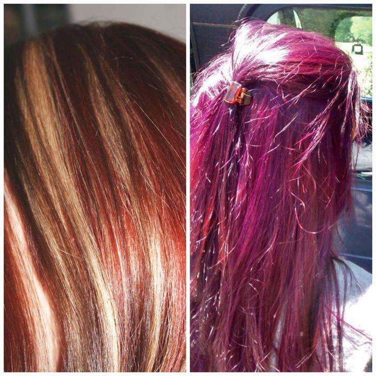 Vidal Sassoon Purple Hair Hairstyle Inspirations 2018