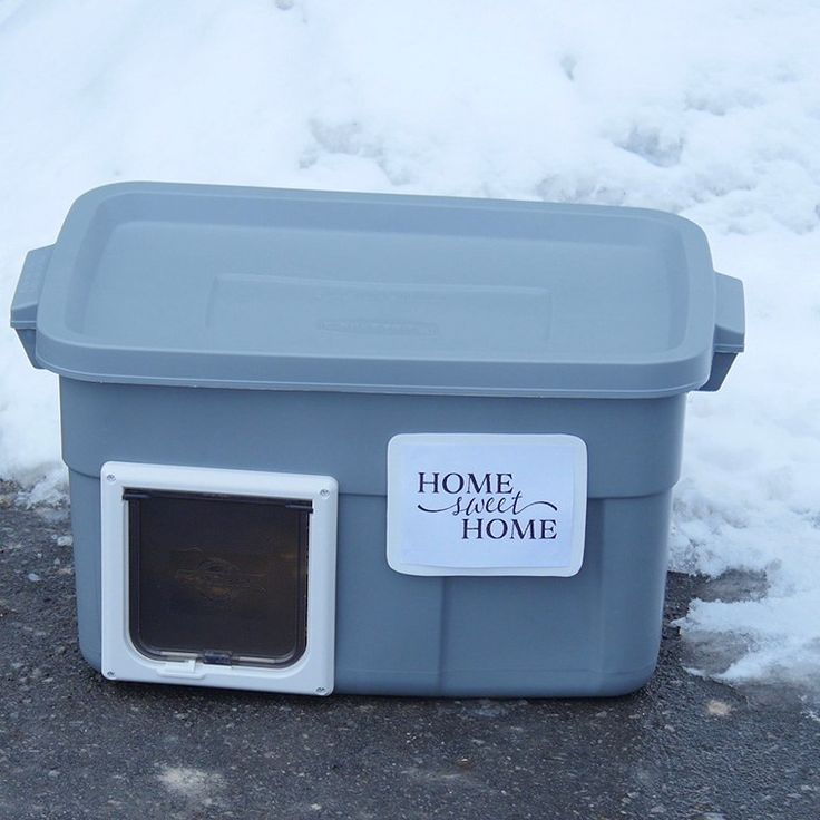 Design Your Own Exterior: Create Your Own Stray Cat Home To Show Them Some Much