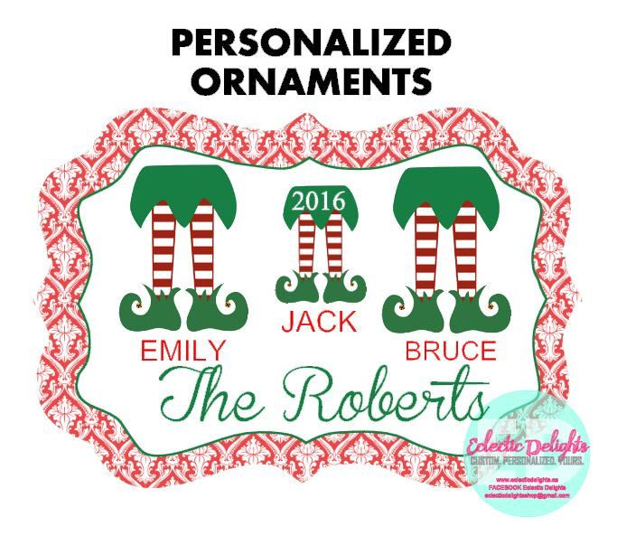 A personal favorite from my Etsy shop https://www.etsy.com/ca/listing/472167437/personalized-ornaments-custom-ornaments