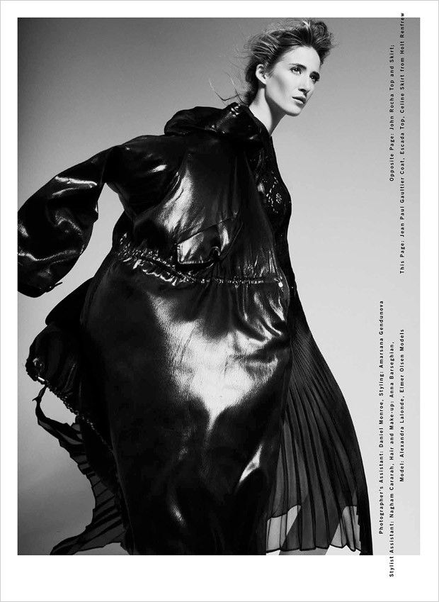 Alexandra Lalonde for FSHN Unlimited by Matthew Lyn