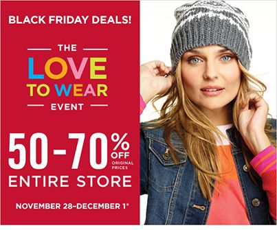 Gap Factory Store Up to 50%-70% OFF entire store!  See in store for full details.