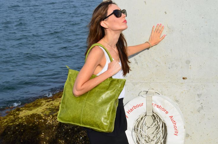 Boboli Tote Bag in glazed leather - www.bidinis.com