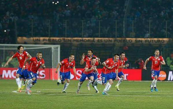 Chile Campeón!!