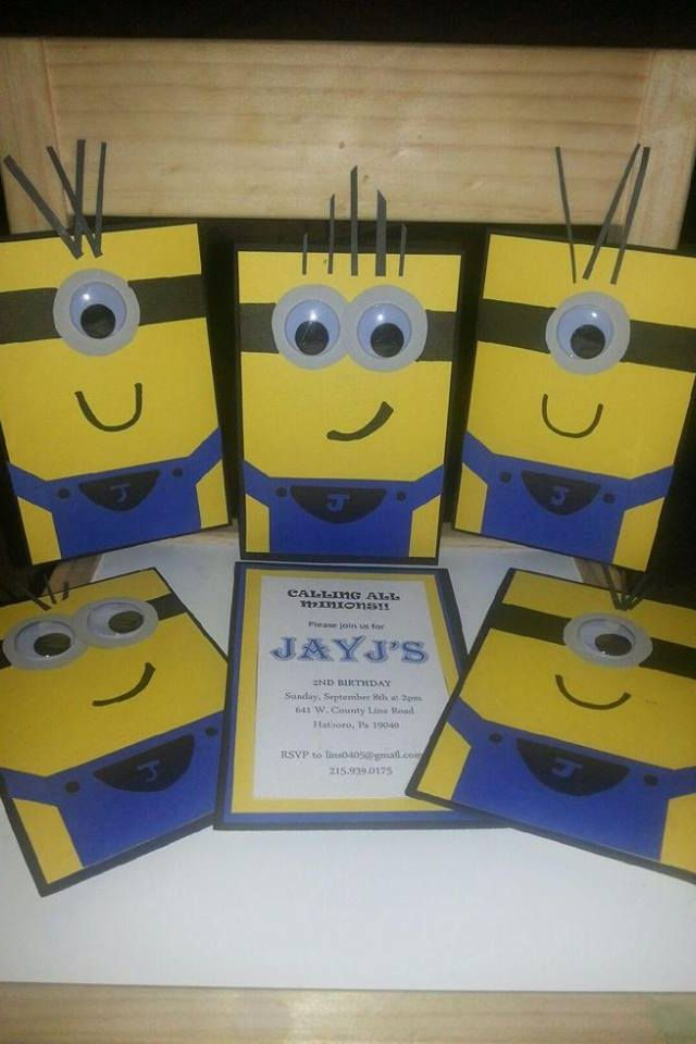 17 Best ideas about Minion Party Invitations – Diy Girl Birthday Party Invitations