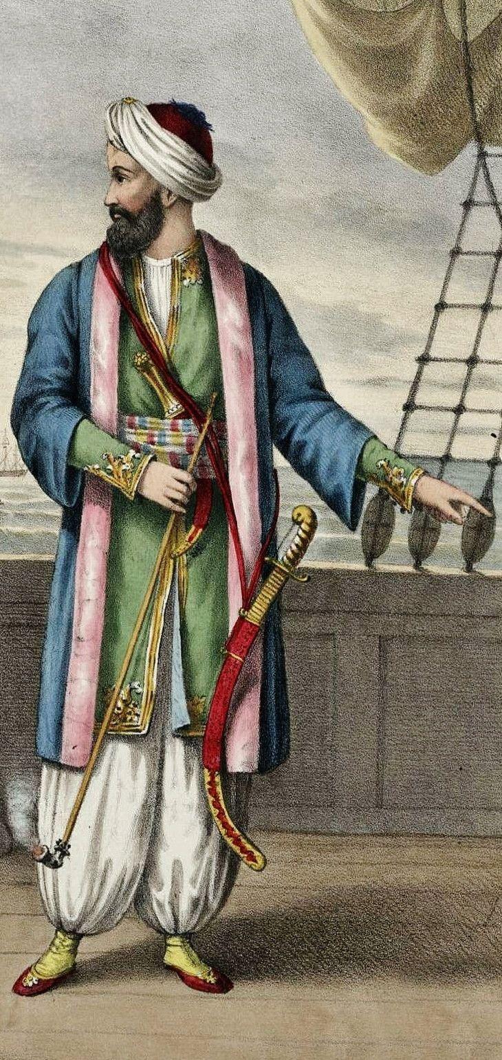 Nasuhzade Ali Paşa.  He was Grand Admiral of the Ottoman fleet in 1821-1822.