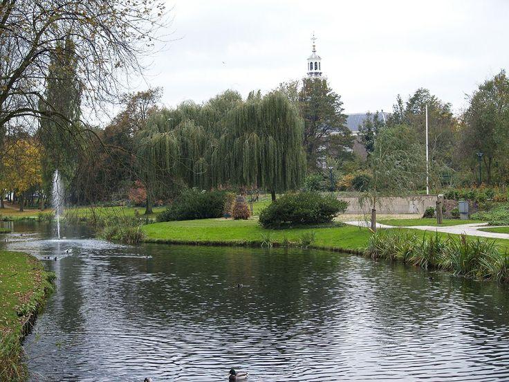 Het Wilhelminapark, het oudste park van Zoetermeer.