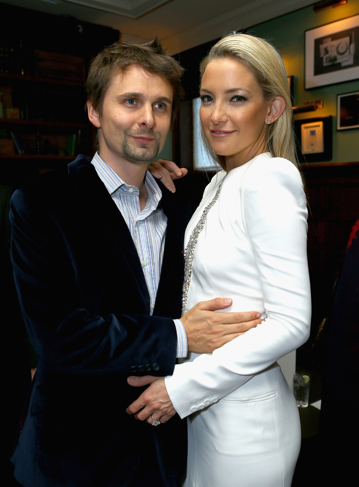 """Matthew Bellamy and Kate Hudson Bellamy and Hudson, who welcomed son Bingham in July 2011, have been engaged for a year and a half, but seem in no rush to walk down the aisle. """"I think until the day we get married, the answer is going to be, 'We have no intention right now of getting married.' And then you'll find out we got married,"""" Hudson told USA Today in 12/12."""