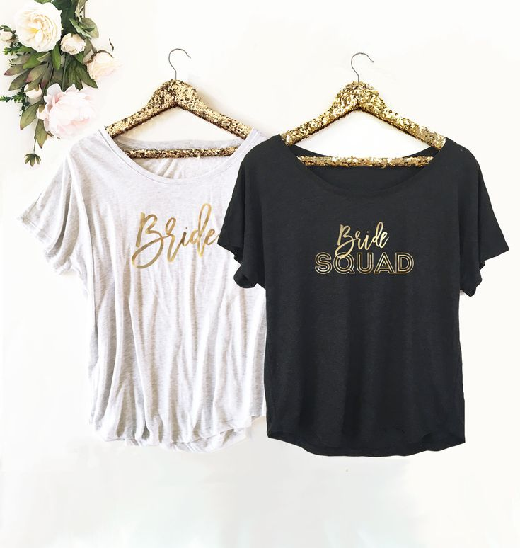 Bridal Party Shirts are perfect for your