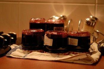 Petite cueillette de myrtilles dans les tourbes, aussitôt mise en pots ! Du soleil myrtillé pour l'année... http://www.jardipartage.fr/confiture-myrtilles-facile/