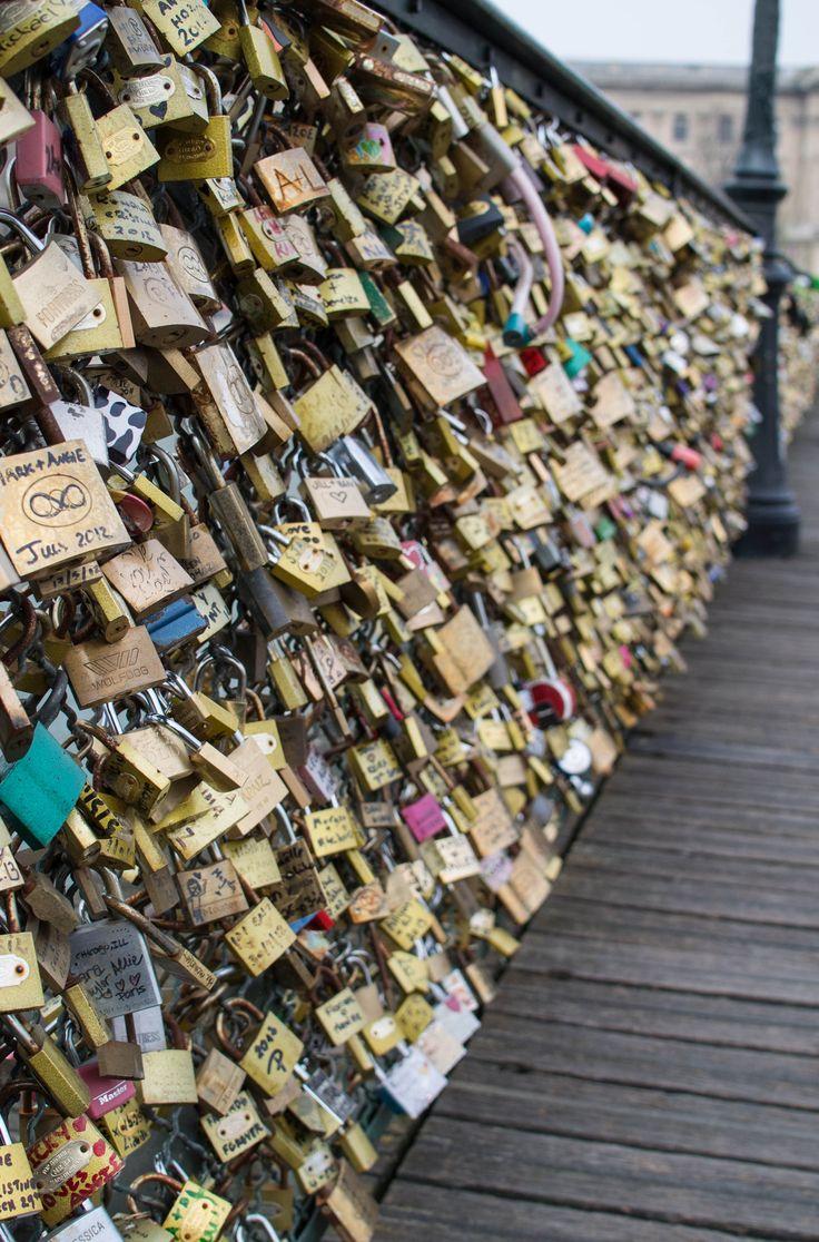 25 b sta lock bridge paris id erna p pinterest paris for The lock bridge in paris