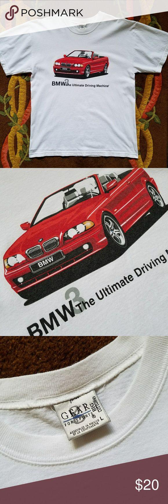 Bmw3 graphic tee shirt men s