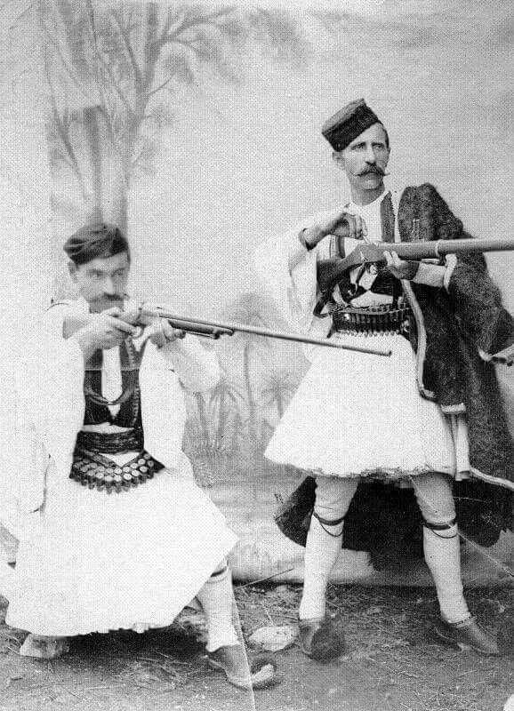 Men from Epirus, Greece, late 19th- early 20th c.
