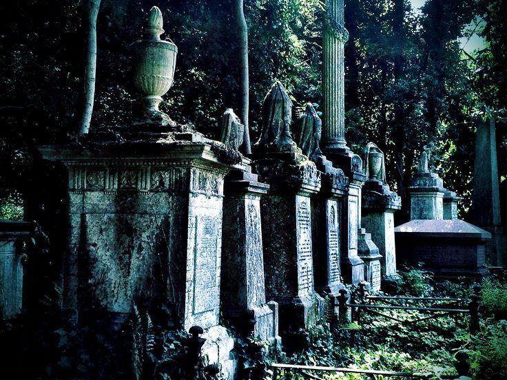 Highgate cemetery London | by TheCreativePenn